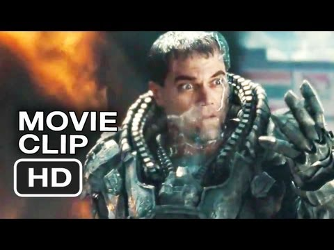 Man of Steel Official Clip - It Hurts, Doesn't It!? (2013) Superman Movie HD