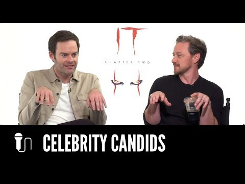 Bill Hader Shares His James McAvoy Impression | IT CHAPTER TWO