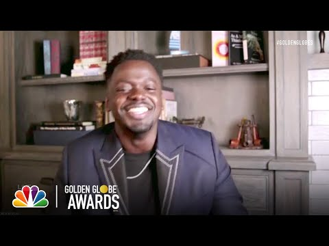 Daniel Kaluuya: Best Supporting Actor in a Motion Picture - 2021 Golden Globes