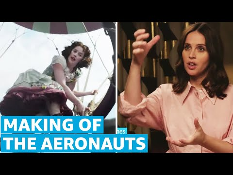 Behind The Scenes of The Aeronauts   How It's Made   Prime Video