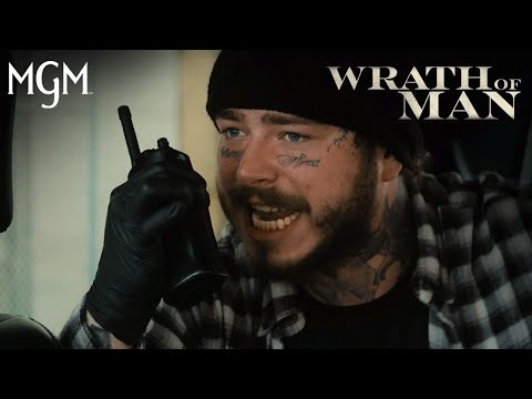 WRATH OF MAN   'H Doesn't Follow the Rules' Official Clip (Feat. Post Malone)   MGM Studios