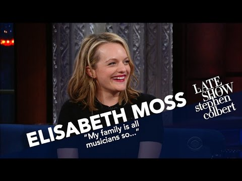 Elisabeth Moss Describes A 'Fictional' Totalitarian, Right-Wing Regime