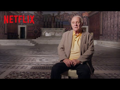 The Two Popes: Anthony Hopkins as Pope Benedict   Netflix