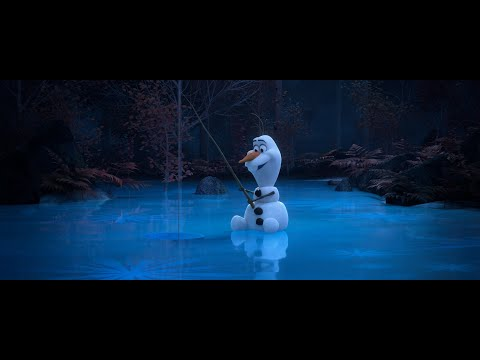 """Fishin'"" l At Home With Olaf"