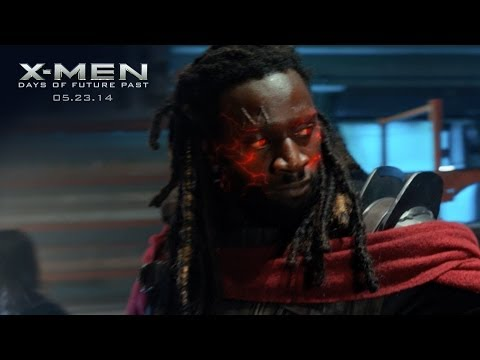 "X-Men: Days of Future Past | ""Bishop"" Power Piece [HD] 
