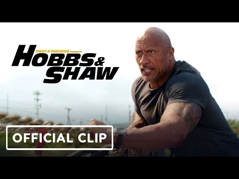 """Hobbs & Shaw - """"Catching a Helicopter"""" Clip"""
