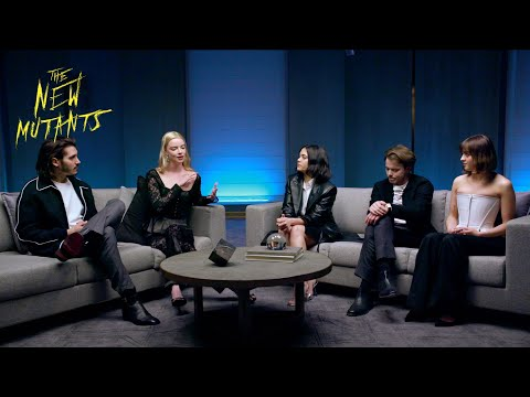 The New Mutants   The CW Roundtable   20th Century Studios
