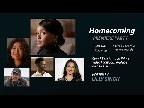 Homecoming Series Virtual Premiere Lilly Singh Host  Prime Video