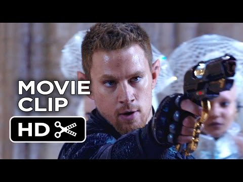 Jupiter Ascending Movie CLIP - Resourceful (2015) - The Wachowski Siblings Movie HD