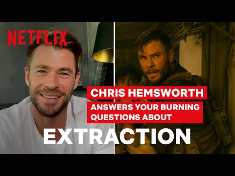 Chris Hemsworth Talks About The Crazy Car Chase In EXTRACTION | Netflix
