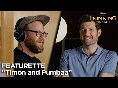 """""""Timon and Pumbaa"""" Featurette 