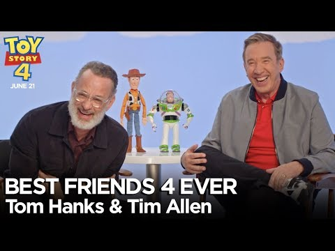 """""""Best Friends 4 Ever"""" with Tom Hanks & Tim Allen 