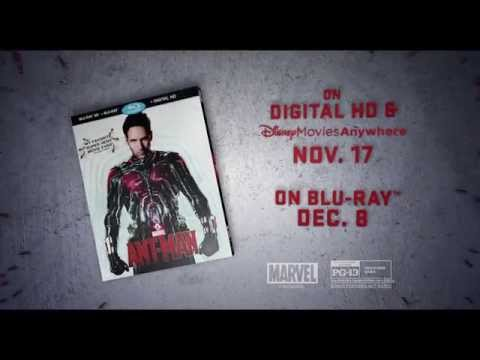 Get Ready for Marvel's Ant-Man on Blu-ray!