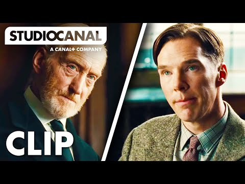 THE IMITATION GAME - Alan Turing Interview at Bletchley Park - Film Clip