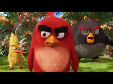 Angry Birds // Clip - Mighty Eagle Noises (Vlaams)