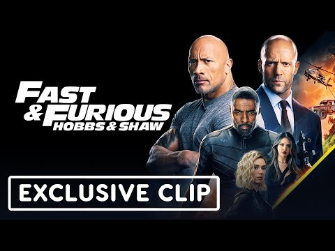 """Fast & Furious: Hobbs & Shaw """"Car Chase"""" Exclusive Clip"""