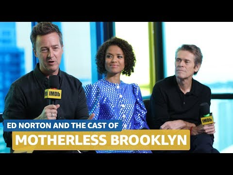 Edward Norton Talks 'Motherless Brooklyn,' Great Actors, and Creative Obstacles | FULL INTERVIEW