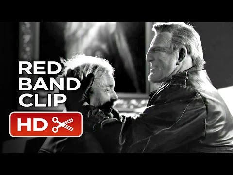 Sin City: A Dame To Kill For Red Band CLIP - Marv Kills (2014) - Mickey Rourke Thriller HD