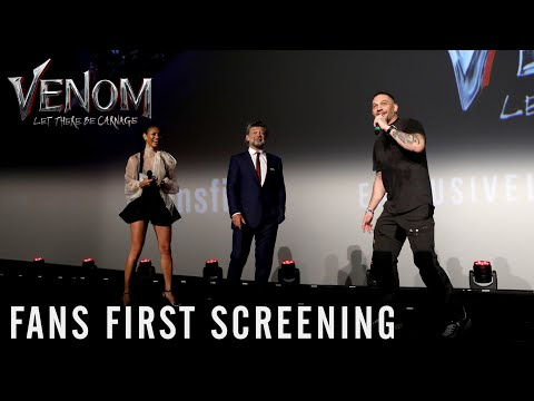 VENOM: LET THERE BE CARNAGE - Fans First Screening