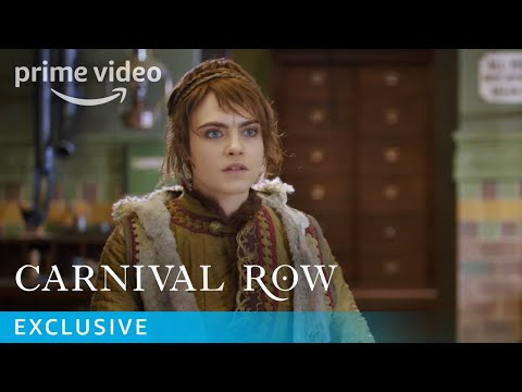 Behind The Scenes With The Cast of Carnival Row | Prime Video