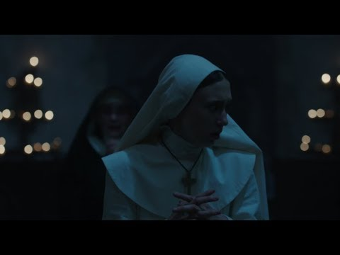 """THE NUN (2018) Clip """"Don't Stop Praying"""" HD, The Conjuring"""