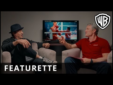 """CREED II – """"Sylvester Stallone & Dolph Lundgren – Meeting First Time"""" Featurette – Warner Bros. UK"""