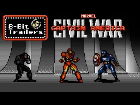 8-Bit Trailers - Captain America: Civil War