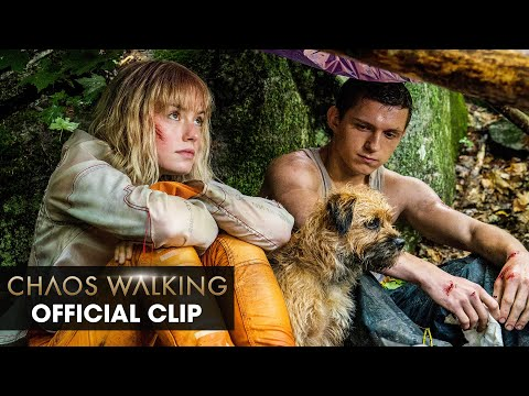 """Chaos Walking (2021 Movie) Official Clip """"What Are You Doing?"""" – Tom Holland, Daisy Ridley"""