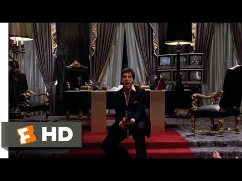 Scarface (1983) - Say Hello to My Little Friend Scene (8/8) | Movieclips