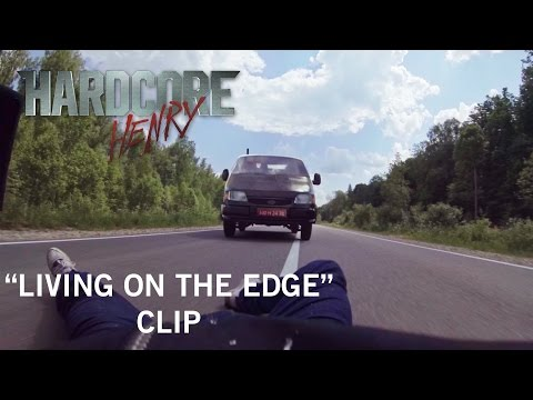 """Hardcore Henry   """"Living on the Edge"""" Clip   Own It Now on Digital HD, Blu-ray & DVD"""