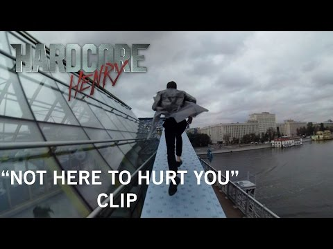 """Hardcore Henry   """"Not Here To Hurt You"""" Clip   Own It Now on Digital HD, Blu-ray & DVD"""