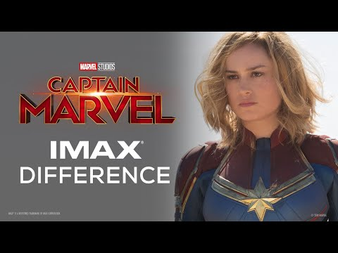 Captain Marvel   The IMAX® Difference
