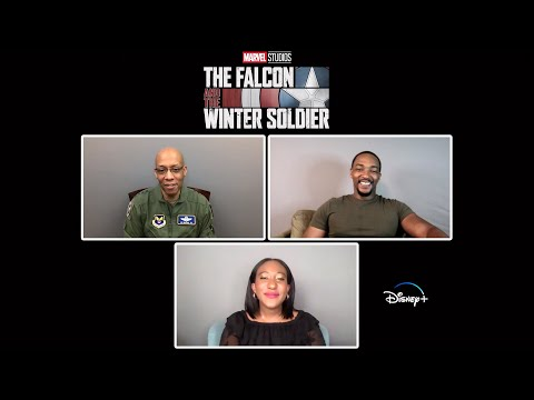 The Falcon and The Winter Soldier | A Conversation with Anthony Mackie & Gen. Charles Q. Brown, Jr.