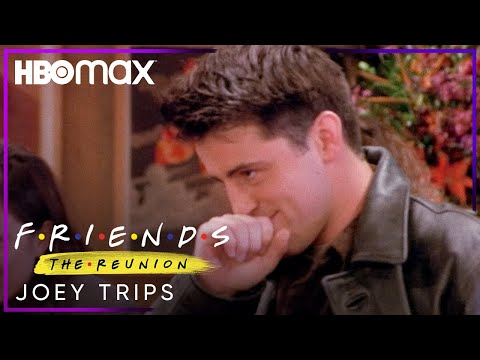 Friends: The Reunion | Joey Trips | HBO Max