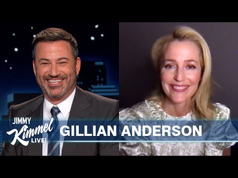 Gillian Anderson Talks The Crown & Plays X-Files Trivia Game