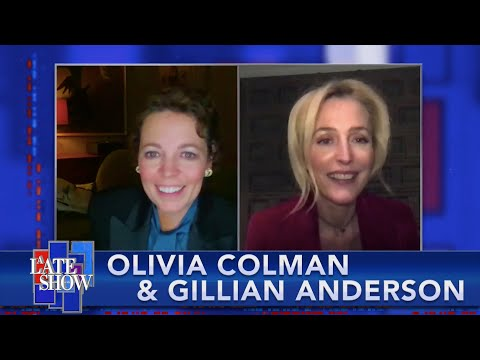 """Olivia Colman & Gillian Anderson On How They Learned Specific Accents For """"The Crown"""" Season 4"""