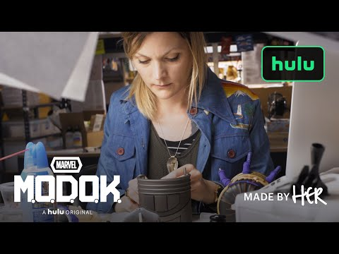Women of Marvel's M.O.D.O.K. | Made By Her | Hulu