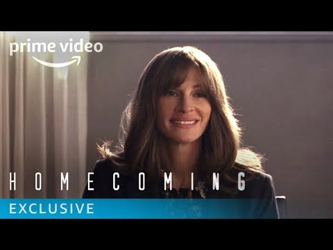 Homecoming Season 1 - Behind the Scenes with Julia Roberts   Prime Video