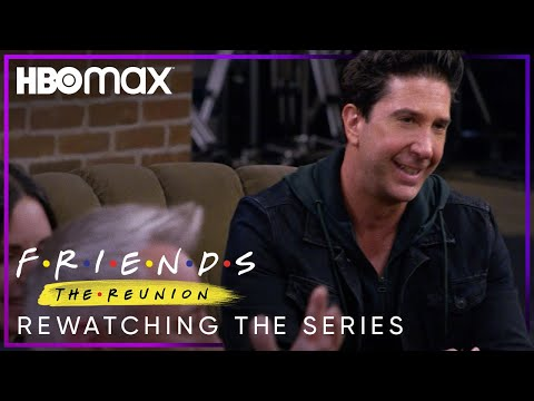 Friends: The Reunion | Rewatching the Series | HBO Max