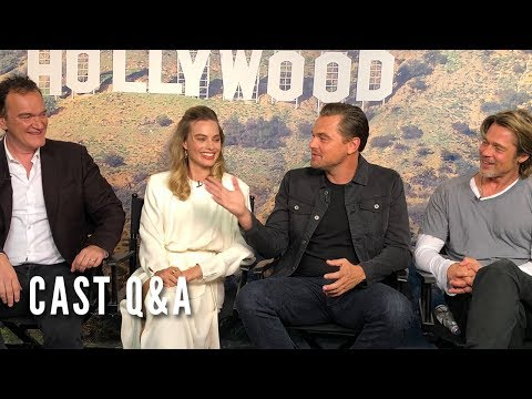 ONCE UPON A TIME IN HOLLYWOOD - Cast Q&A