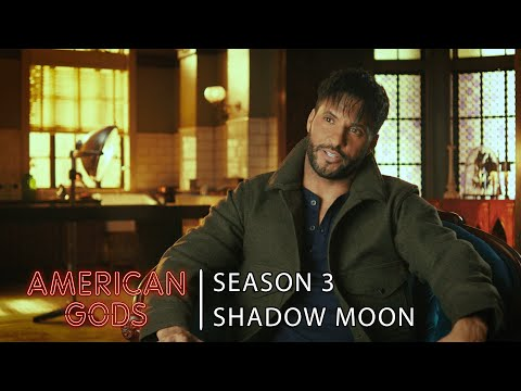 Shadow Moon Interview with Ricky Whittle | American Gods - Season 3
