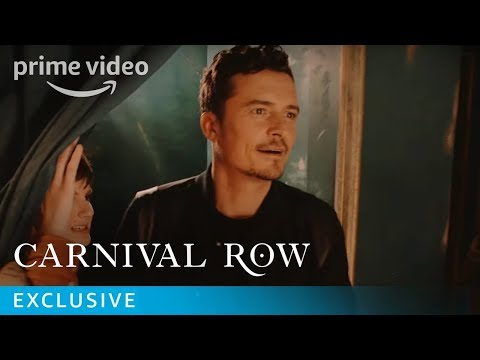 Follow Orlando Bloom and Carnival Row cast at SDCC 2019 | Prime Video