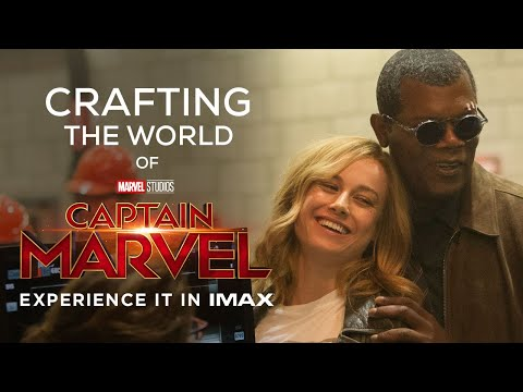 Crafting the World of Captain Marvel   IMAX® Roundtable