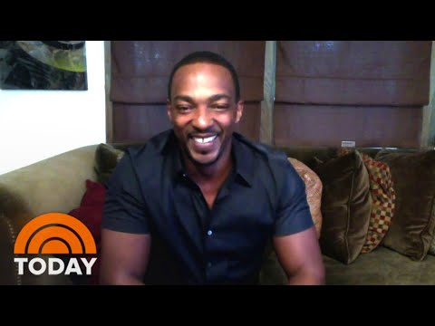 Anthony Mackie Talks About Film 'Outside The Wire' | TODAY