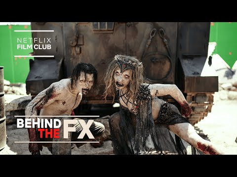 Behind the FX of Army of the Dead's Alpha Zombies   Netflix