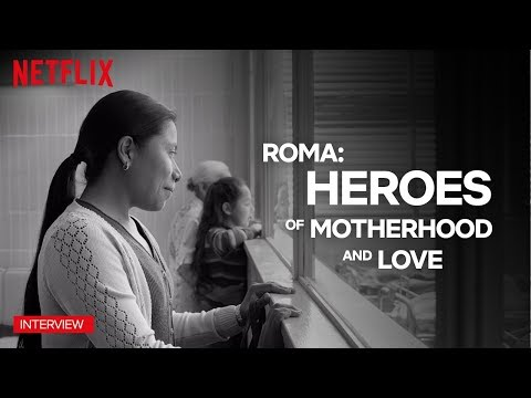 Roma | Yalitza and Marina Talk About the Power of Women | Netflix
