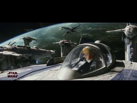 ILM: Behind the Magic of the Dreadnought Bomber Run in Star Wars: The Last Jedi