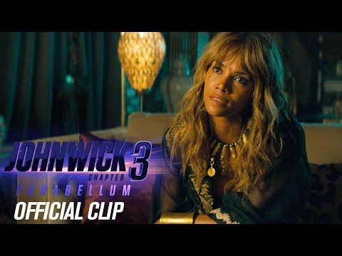 """John Wick: Chapter 3 - Parabellum (2019) Official Clip """"Management"""" – Keanu Reeves, Halle Berry"""
