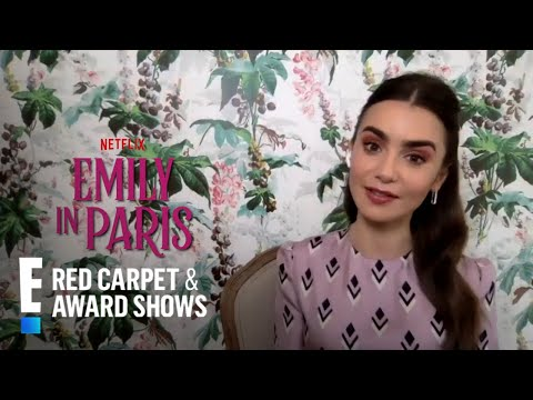 """Lily Collins on How """"Emily in Paris"""" Differs From """"Sex and the City"""" 