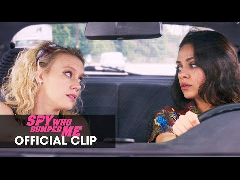 """The Spy Who Dumped Me (2018) Official Clip """"We're Going to Europe"""" – Mila Kunis, Kate McKinnon"""